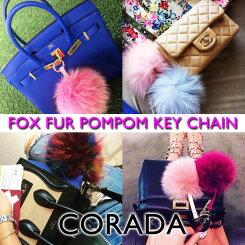 FOXFURPOMPOM(フォックスファーポンポン)キーチェーン
