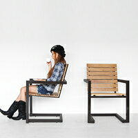アウトドア家具、ガーデン家具【チタンス】スタッキングチェア【送料無料】