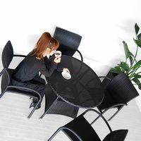 送料無料 シンセティックラタン【フェリックス】 ダイニングテーブル アジアン家具 アジアン テーブル ガーデン テラス モダン ダイニング 食卓 カフェ 北欧 アウトドア 6人用 4人用 2人用