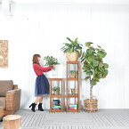 30%OFFセール★送料無料 【フォーチュナ】フラワースタンド(Lサイズ) アジアン家具