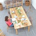 送料無料 【ガヴィオ】ダイニングテーブル(ナチュラル) 91054 ダイニング テーブル table 木製 北欧 食卓 ホワイトオーク おしゃれ d…