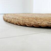 あす楽対応送料無料ウォーターヒヤシンス・エントランスマット50x80オーバル玄関マット足マットマット天然素材自然素材玄関ラグマットカーペット絨毯ナチュラル雑貨籐送料無料アジアン籐製ラタン雑貨丸リビングおしゃれかわいい可愛いシンプル