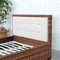 送料無料【レペンス】ベッド(ダブル)フレームのみ直輸入,北欧家具,木製家具,アジアン家具,雑貨