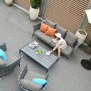★送料無料 【タコ】コーヒーテーブル 130×76 アウトドア家具 屋外用家具