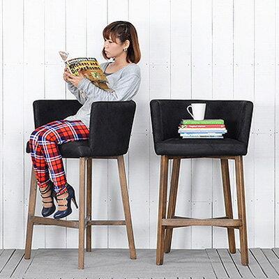 送料無料 【アザレア】バーチェア(PJH380)北欧 椅子 家具 ダイニングチェア イス ダイニング 木製 食卓 いす おしゃれ フレンチ シンプル モダン ナチュラル カントリーの写真