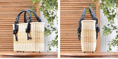 eee463f6c5e5 ☆送料無料 ラタン·ハンドバッグ(R-HB03-BN)カバン 鞄 バリ家具 かばん ...