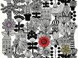 【最大500円OFFクーポン配布中!】正規輸入品 marimekko マリメッコ LINTUKOTO リントゥコト 生地 10cm単位で切売り マリメッコ生地 北欧 生地 布 切り売り マリメッコ 北欧 生地