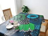 マリメッコ 生地 北欧 marimekko シールトラプータルハ SIIRTOLAPUUTARHA テーブルクロス 10cm単位で切り売り 撥水加工生地 ビニールコーティング