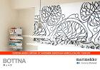 北欧生地オーダーシェードmarimekko(マリメッコ)BOTTNA(ボットナ)全2色プレーンシェード幅191〜260cm×丈208〜250cm【0825祭10】