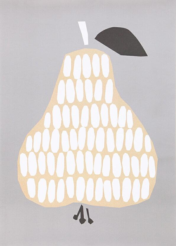 ポスター 北欧 おしゃれ かわいい インテリア DARLING CLEMENTINE PEAR 洋なし 洋ナシ 洋梨 HARVEST ポスター 50cmx70cm ダーリン クレメンタイン【ギフト】