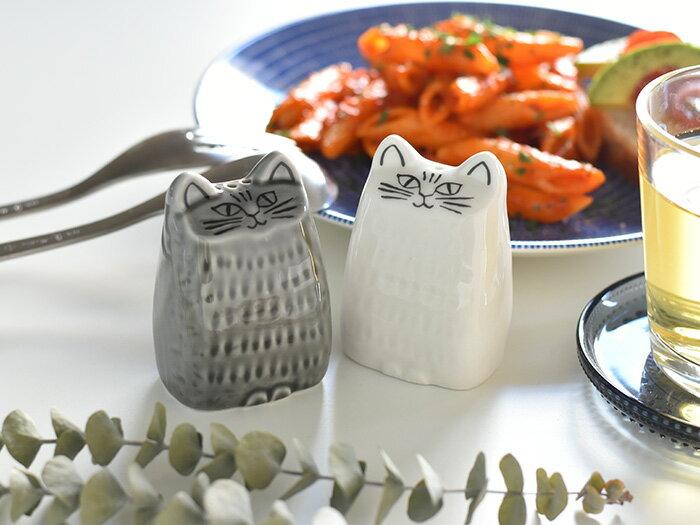 Lisa Larson リサ ラーソンねこのソルト&ペッパー 陶器 猫 ねこ ネコ 美濃焼 【ギフト】