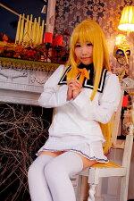 有栖川麗子(ありすがわれいこ)俺がお嬢様学校に「庶民サンプル」としてゲッツされた件清華院女学校制服ウィッグ付き庶民サンプル