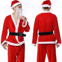 サンタコスプレセクシーサンタ衣装トナカイポンチョワンピース女性男性大人用サンタクロースクリスマスコスチューム衣装コスプレ衣装コスプレセクシー大人コスプレサンタコスプレ激安通販