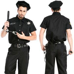 アメリカンブラックポリスマン コスプレ 可愛い ポリス アーミー 婦人警官 迷彩 ミニスカ ハロウィン 大きいサイズ 男女兼用 レディース メンズ 女装 男の娘 余興 大人 コスチューム 衣装