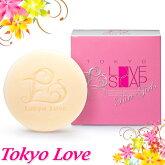 東京ラブソープ(ピュアガールズ)石鹸ボディケアデリケートゾーン抑毛効果天然植物由来弱アルカリ性男女兼用