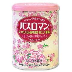 アース バスロマン 桜の香り 薬用入浴剤 BATH ROMAN *