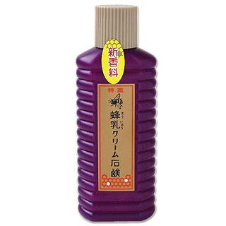 特選蜂乳クリーム石鹸200ml(徳用サイズ)