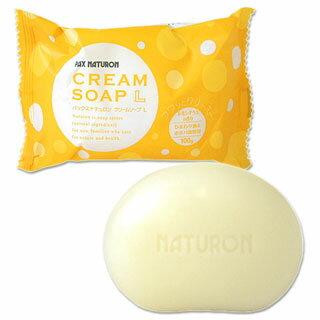 【価格据え置き】5%還元 パックスナチュロン クリームソープL(浴用石けん) レモングラスの香り 100g PAX NATURON 太陽油脂