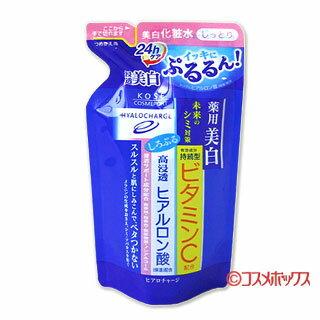 コーセーコスメ port ヒアロチャージ medicated white lotion M refill 160 ml HYALOCHARGE KOSE COSMEPORT *