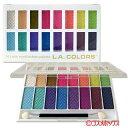 ピュアな輝きと発色の綺麗なカラーLAカラーズ 16カラーアイシャドーパレット 74202 27g L.A...
