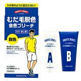 【お盆期間営業中】柳屋 メンズボディ むだ毛脱色クリーム (うで・あし用脱色剤) yanagiya