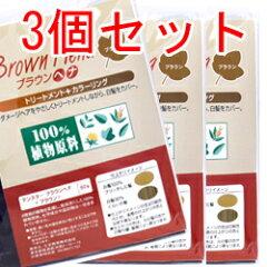 【カップなし】 テンスター ブラウンヘナ 60g  【3個セット】