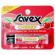 サベックス SAVEX リップクリーム スティック チェリー 4.2g (リップ リップスティック)