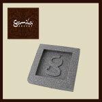 ガミラシークレット・ソープディッシュグレー(石鹸置き)