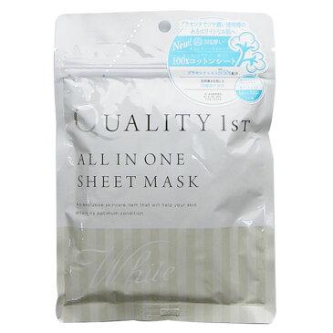 クオリティファースト QUALITY 1st オールインワンシートマスク ホワイトEX 5枚入 ※お一人様10個限り