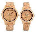 竹製 腕時計 防水 クォーツ バンブー コルク レディース メンズ ユニセックス ペア ウォッチ 女性 男性 BOBO BIRD Watch Wood