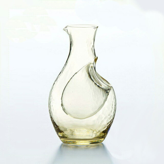 【ポイント5倍】【ギフト】東洋佐々木ガラス 冷酒カラフェ(琥珀色) 300ml (61227DGY) [ハンドメイド][日本製]