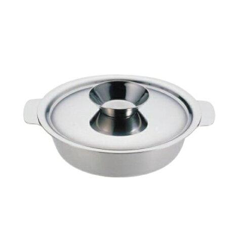 UK ちり鍋 26cm 18-0・電磁対応 ユキワ (QTL12026) 7-1998-0402(業務用)