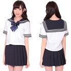 セーラー服3セーラー服女子高生制服スクールブレザーミニスカートアキバAKB