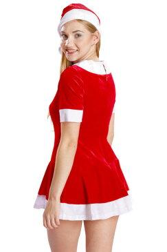 ラブリーワンピースサンタ コスプレ クリスマス サンタ サンタコス サンタクロース セクシー 大人 コスチューム キャバ ギャル 衣装 可愛い パーティー イベント 仮装