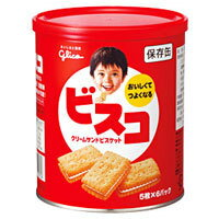 グリコ ビスコ 保存缶 30枚(5枚×6袋)