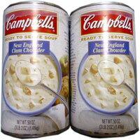 クラムチャウダー大容量サイズ!【Campbell's】【キャンベル】キャンベル クラムチャウダー 1....
