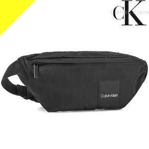 カルバンクライン バッグ ボディバッグ ウエストバッグ ウエストポーチ メンズ ブランド かっこいい 軽量 斜めがけ 黒 ブラック Calvin Klein ITEM STORY WAISTBAG K50K504778 BDS [ネコポス発送]
