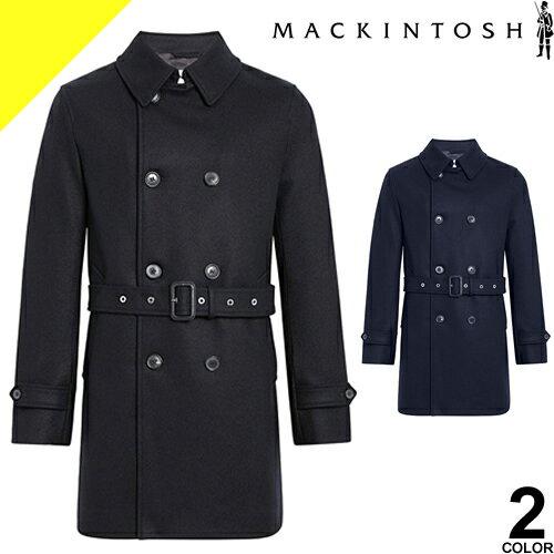 マッキントッシュ MACKINTOSH コート メンズ ウール トレンチコート ショート GM-005F メルトンコート チェスターコート ブランド 大きいサイズ ビジネス ブラック ネイビー