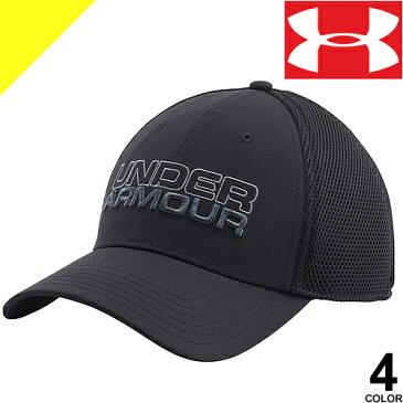 アンダーアーマー UNDER ARMOUR キャップ ランニング ゴルフ メッシュ メンズ 帽子 大きめ 大きいサイズ 1283150