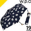 wpcw.p.c雨傘折りたたみ傘レディース6本50cm花柄かわいい