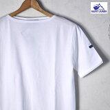 【SAINT JAMES】セントジェームスPIRIAC(ピリアック)半袖TシャツNEIGE(ホワイト)[ゆうパケット対応]