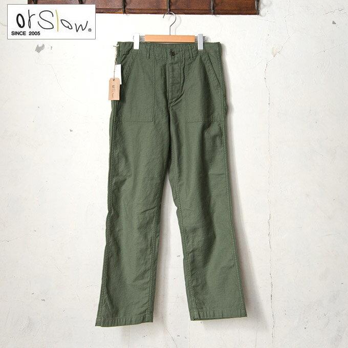 メンズファッション, ズボン・パンツ orslowMENS US ARMY FATIGUE PANTS01-5002 US 4 16z5x
