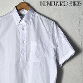 【INDIVIDUALIZED SHIRTS】インディビジュアライズドシャツS/S CLASSIC FIT BD SHIRT PULLOVERショートスリーブ クラッシックフィットボタンダウン シャツ プルオーバーピンポイントオックスフォードホワイト