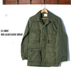 U.S. Armed Force BDU Jacket: Olive Drab
