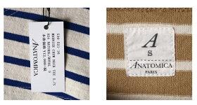 《マスタ待ち》正規販売店MadeinJapan【ANATOMICA】アナトミカMARNIERCREWNECKTEELONGSLEEVEマーニアークルーネックTシャツ全6色z3x