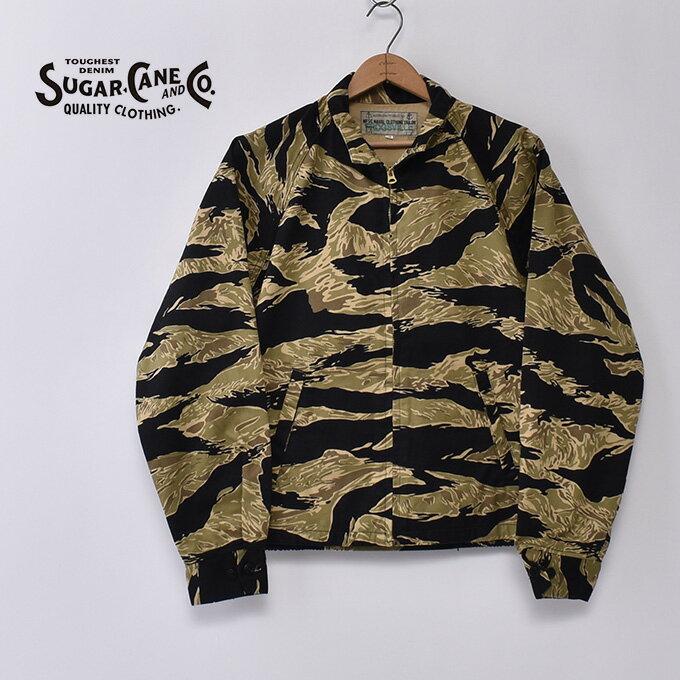 メンズファッション, コート・ジャケット SUGAR CANEMR.FREEDOM FROGSVILLE ADVISOR JACKET GOLD TIGER PATTERNSSC14835 431BrwA