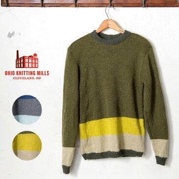 Made in USA【Ohio Knitting Mills】オハイオ ニッティング ミルズMocozi モコジクルーネック モヘア セーター全2色《S-70》
