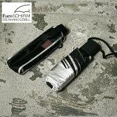 【EuroSCHIRM】ユーロシルムDANTY オートマチック UV傘 かさ 日傘 折り畳み傘シルバー