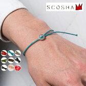Made in USA【SCOSHA】スコーシャ#SB2 Bracelet ブレスレットソリッドカラー 全5色[ゆうパケット対応]