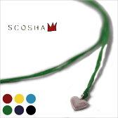Made in USA【SCOSHA】スコーシャ#SN1 SIGNITURE NECKLACE FLAT HEARTシグニチャーネックレス フラットハート全6色[ゆうパケット対応]